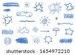 infographic elements isolated... | Shutterstock . vector #1654972210