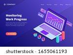 monitoring work progress...
