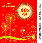 discount hot red label for... | Shutterstock . vector #1655078269