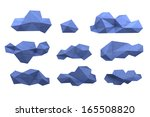 collection of clouds | Shutterstock . vector #165508820