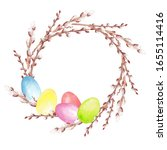 Watercolor Hand Drawn Easter...