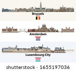 skylines illustrations of... | Shutterstock .eps vector #1655197036