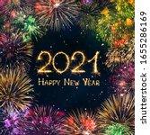 Happy New Year 2021. Greeting...