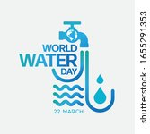 world water day   save the... | Shutterstock .eps vector #1655291353