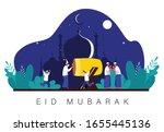 ramadan kareem and eid mubarak...
