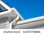 Colonial White Gutter Guard...