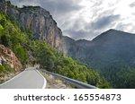 Mountain Road. Catalonia  Spain