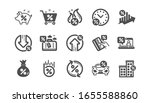 loan icons. investment ...   Shutterstock . vector #1655588860