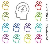 human  brain  process  thinking ...