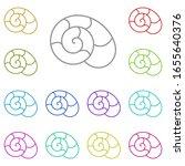 snails iconmulti color icon....