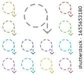 arrow  circular icon. simple...