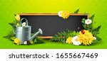 spring time background with... | Shutterstock .eps vector #1655667469
