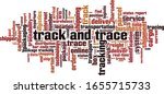 track and trace word cloud... | Shutterstock .eps vector #1655715733