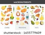 macronutrients vector... | Shutterstock .eps vector #1655779609