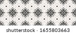 ikat seamless pattern. border...   Shutterstock .eps vector #1655803663