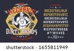 font mechanic dirty hands....   Shutterstock .eps vector #1655811949