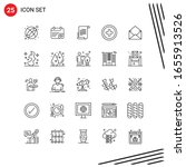 collection of 25 vector icons...   Shutterstock .eps vector #1655913526