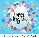 vector illustration happy... | Shutterstock .eps vector #1655918173