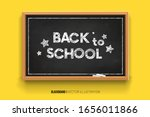 back to school. chalk... | Shutterstock .eps vector #1656011866
