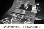 Small photo of Rome, Italy - June 24, 2019: Collection of covers and cd of US singer, actor and television host FRANK SINATRA. Considered by many music critics the greatest voice of the twentieth century