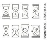 hourglasses. sandglasses...   Shutterstock .eps vector #1656046516