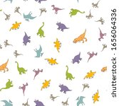 Dinosaurs Pattern Illustration...