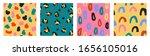 ircle  oval  spot  leopard... | Shutterstock .eps vector #1656105016