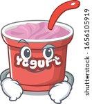 cool yogurt mascot character... | Shutterstock .eps vector #1656105919