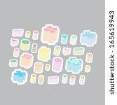 button game controller vector | Shutterstock .eps vector #165619943