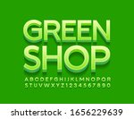 vector bright logo green shop.... | Shutterstock .eps vector #1656229639