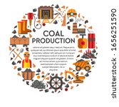 coal production banner with... | Shutterstock .eps vector #1656251590