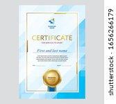 ertificate design  diploma... | Shutterstock .eps vector #1656266179