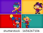 four background template... | Shutterstock .eps vector #1656267106