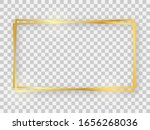 double gold shiny 16x9... | Shutterstock .eps vector #1656268036