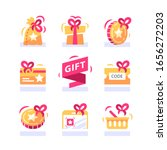 loyalty gift  reward for... | Shutterstock .eps vector #1656272203