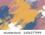 abstract art paint background...   Shutterstock . vector #1656277999