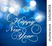 happy new year 2014 celebration ...   Shutterstock .eps vector #165628028