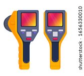 thermal imaging camera.... | Shutterstock .eps vector #1656330010