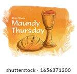 Holy Week Maundy Thursday...