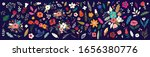 beautiful romantic flower... | Shutterstock .eps vector #1656380776