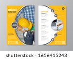 corporate business cover  back... | Shutterstock .eps vector #1656415243