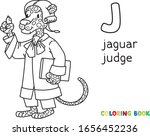 Jaguar Judge Abc Coloring Book...
