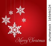 christmas festive background ... | Shutterstock .eps vector #165646124