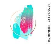 modern abstract design. pink ... | Shutterstock .eps vector #1656470239