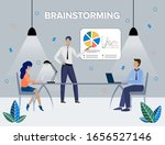 team thinking and brainstorming....   Shutterstock .eps vector #1656527146