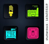 set electric light switch  led... | Shutterstock .eps vector #1656555319