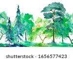 Seamless Watercolor Pattern....