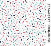 colorful sprinkles seamless... | Shutterstock .eps vector #1656599173