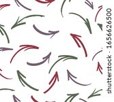 seamless pattern with drawn... | Shutterstock .eps vector #1656626500