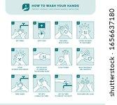 personal hygiene  disease... | Shutterstock .eps vector #1656637180